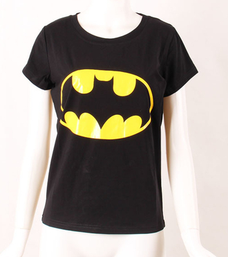 t-shirt batman black