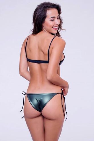 swimwear bikini bottoms cheeky tie sides minimal coverage