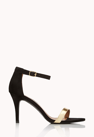 Sleek Ankle Strap Sandals | FOREVER21 - 2000125598