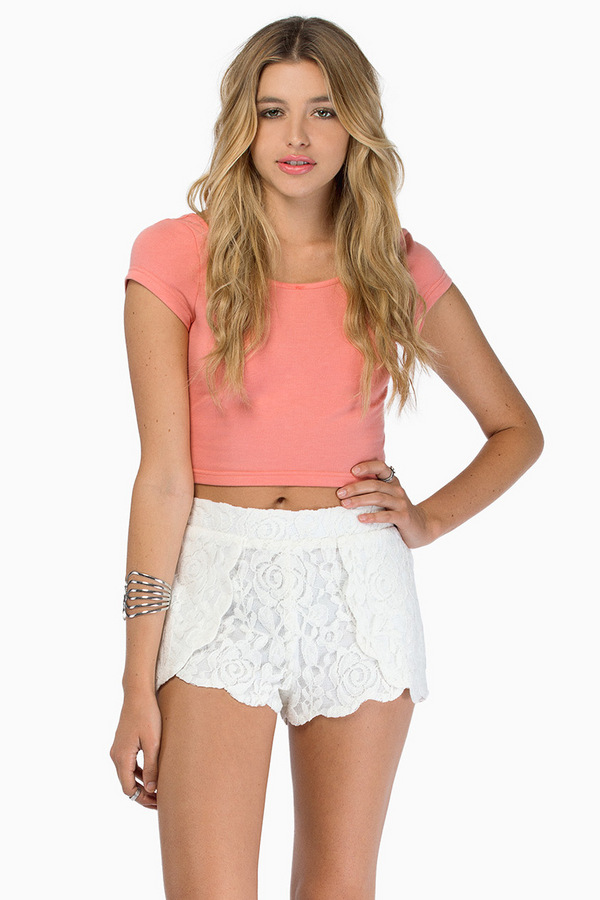 Rose Hedge Shorts - Tobi