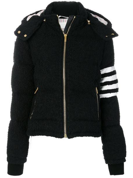 jacket women black wool