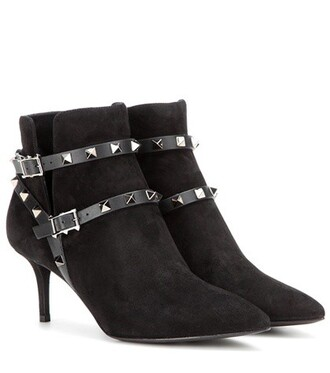 suede ankle boots noir boots ankle boots suede black shoes