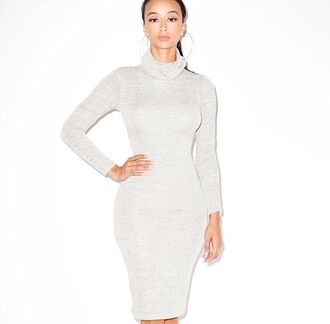 dress white dress long sleeve dress long dress grey dress cocktail dresses clothes style bodycon dress