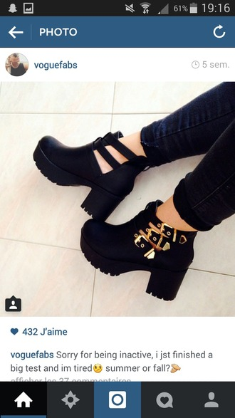 shoes bottes noires bottes bottines bottines ? talon chaussure bottine boots bottilons bottine noir black gold or