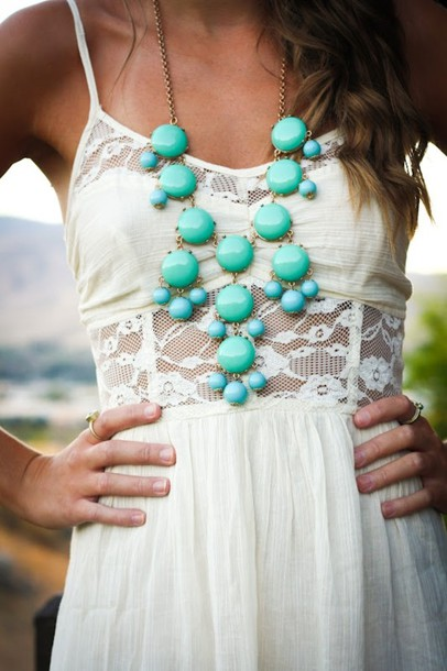 dress lace pretty summer love white pinterest see through spaghetti strap white dress turquoise white lace white lace dress cute cute dress turquise frantic jewelry jewelry jewels accessories spagetti straps model hot hipster hippie hippie chic cream dress lace dress hippy dress boho dress statement necklace peek bohemian boho cut out maxi dress maxi dress summer dress sundress turquoise jewelry girl necklace