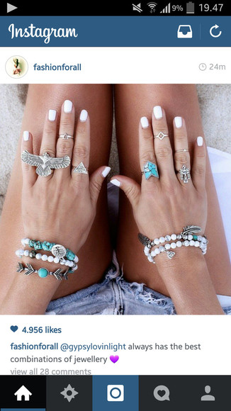 jewels ring nail polish perfect bird eagle