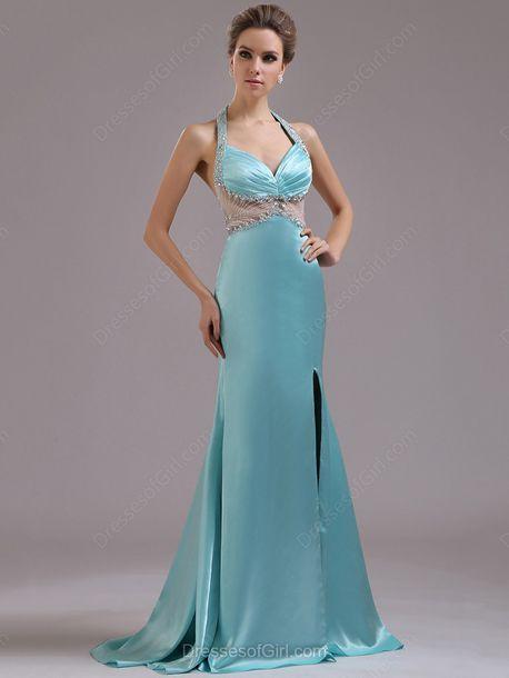 g collection maxi dress blue