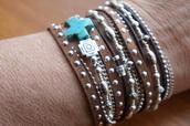 jewels,boho western,boho chic,leather wrap bracelet,silver and leather bracelet,fleurdesignz.etsy.com