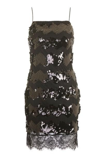 Topshop dress bodycon bodycon dress lace black
