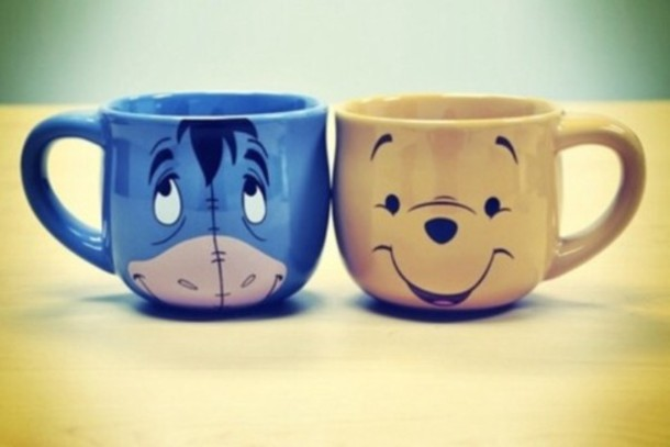cup winnie the pooh sweet drink twa tea disney tigger piglet mug coffee hot chocolate yummy cute eeyore mug home accessory ih-ah beautiful