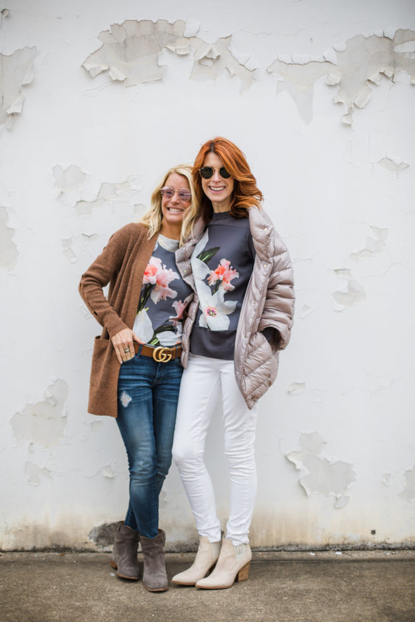 themiddlepage blogger sweater jacket jeans shoes bag cardigan winter outfits gucci belt ankle boots