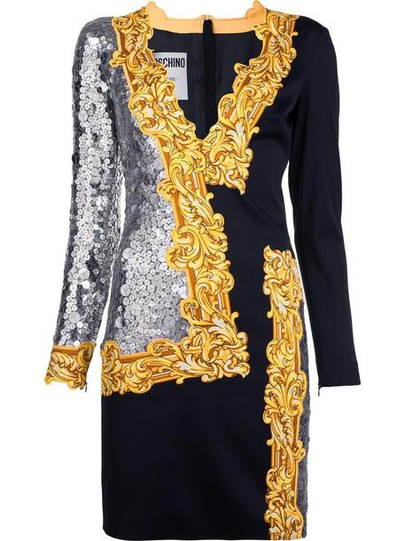 Moschino dress long women black