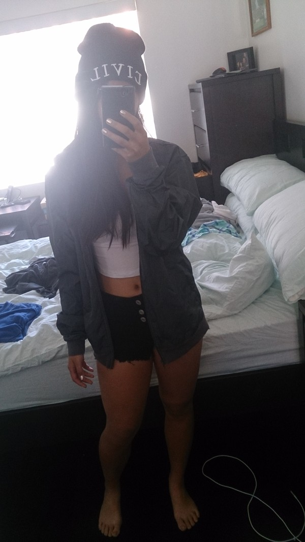 shorts wet seal jacket t-shirt