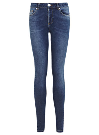 Dark Wash Authentic Jean - Jeans - Clothing - Miss Selfridge