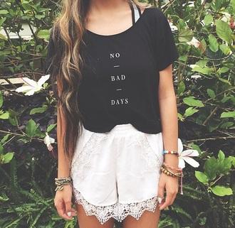 top black colorful t-shirt
