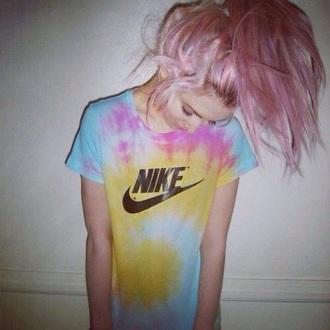 shirt nike tie dye t-shirt