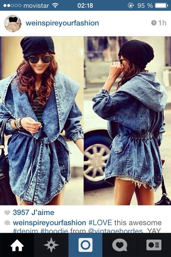 coat jeans jacket