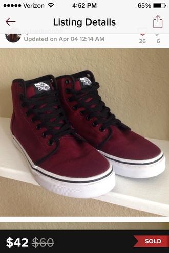 shoes vans hightops