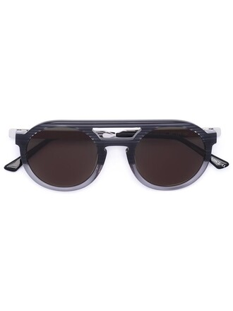 metal women sunglasses black