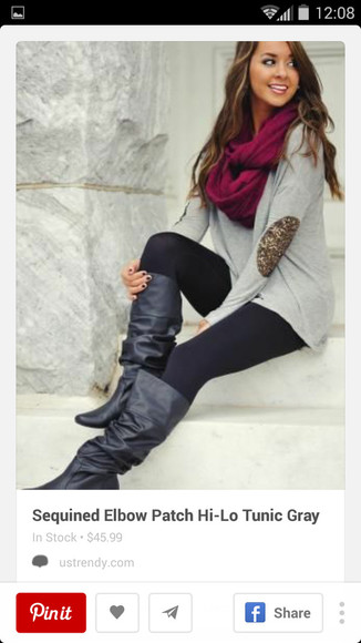 girly fall outfits boots winter fashion cute top scarf