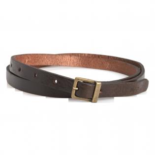 Skinny Belt Basic Brown