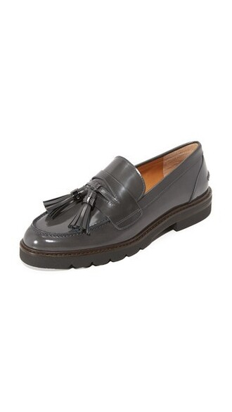 loafers charcoal shoes