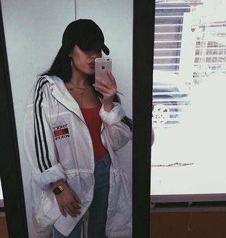 jacket dope style scrapbook style white rain street urban fashion tommy jacket raincoat tommyhilifier jacket blanc windbreaker white jacket coat tommy hilfiger tommy hilfiger jacket transparent