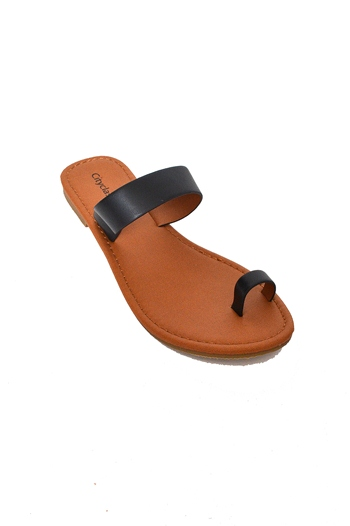 Just Enough Sandal - Black at Bluetique Cheap Chic