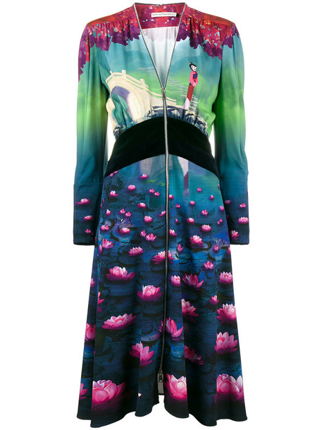 MARY KATRANTZOU dress disney women silk