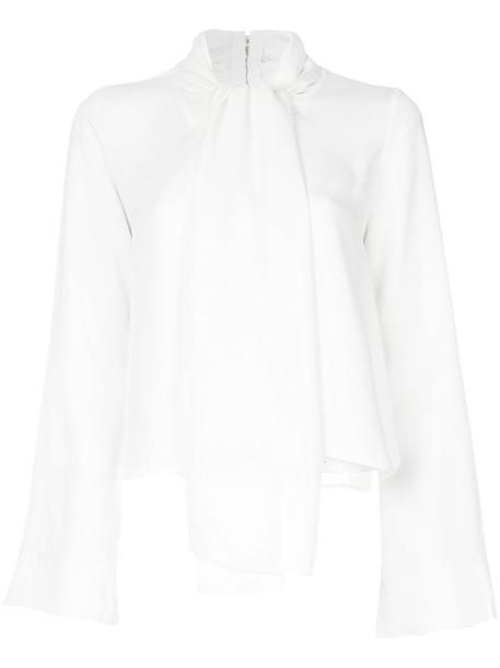 KHAITE blouse women white top