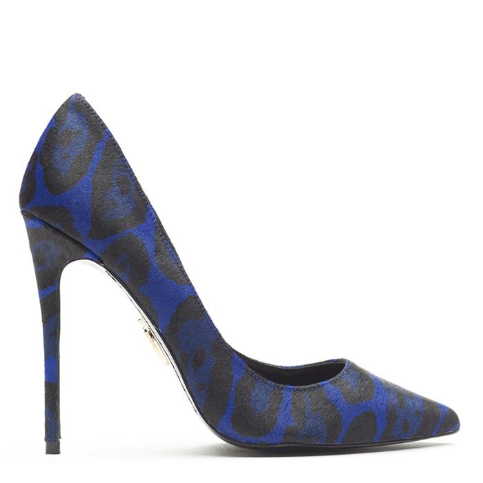 Lust for life krush blue leopard pump – flyjane