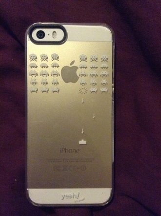 phone cover phone geek cases iphone space invaders iphone 5 case