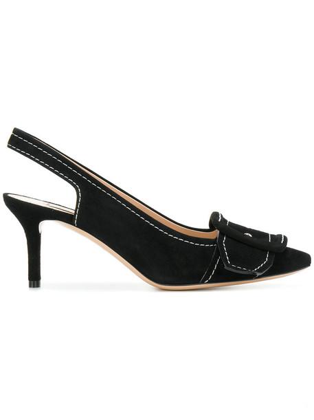 CASADEI women pumps leather black shoes
