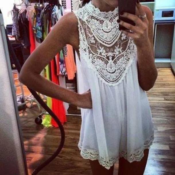 Fashion lace dress / fanewant