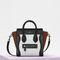 Nano luggage bag in multicolour baby grained calfskin | céline