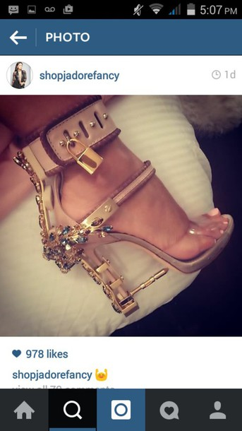shoes nude dsquared heels lock