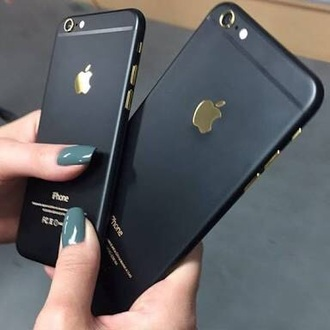 phone cover black iphone gold iphone 6 case black and gold apple apple cover case