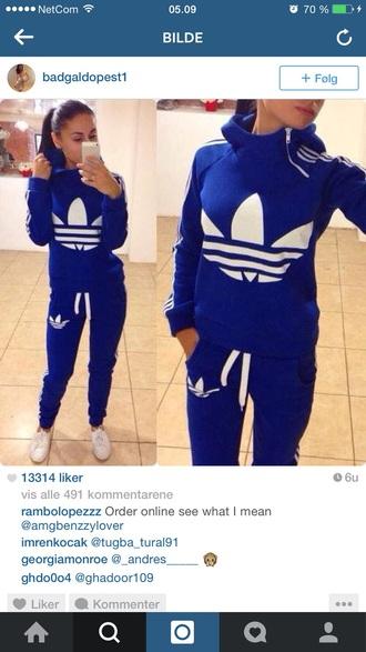 pants blue adidas jumpsuit adidas tracksuit bottom adidas sweater adidas bodysuit