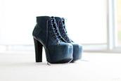 jeffrey campbell,blue shoes,shoes