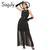 Sisjuly women maxi fashion polka dots maxi dress long casual summer beach chiffon party black dresses style elegant maxi dress