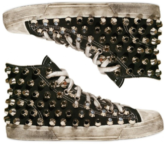 shoes black shoes studs converses