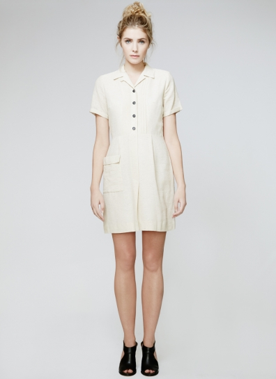 Louise Dress - Oatmeal