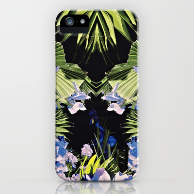 Givenchy Orchid Print iPhone & iPod Case by Naomi Buckler | Society6
