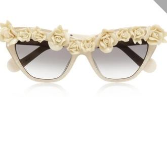 sunglasses white sunglasses ceramic