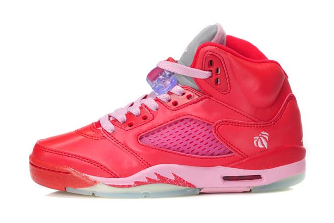 Nike Air Jordan V Retro GS Valentines Day Women's Shoes