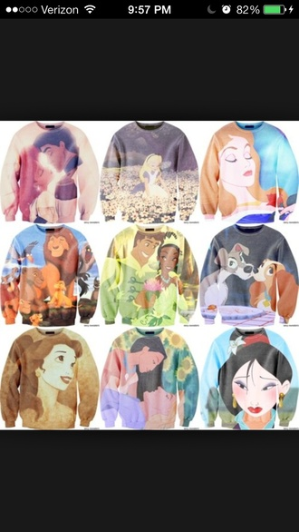 sweater disney princess disney disney sweater