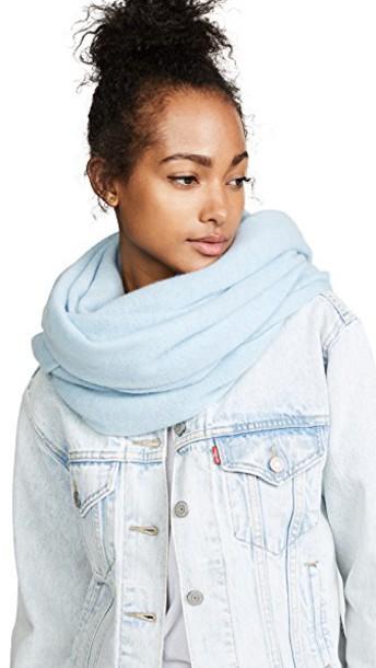 White + Warren scarf white