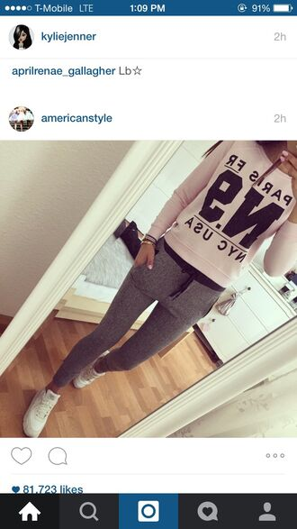 pants sweater pink grey tracksuit joggers black high waisted pants yoga pants skinny pants leather pants black pants printed pants harem pants drop crotch pants emoji pants outfit outfit idea tumblr outfit summer outfits winter outfits cute outfits office outfits date outfit urban outfitters lookbook casual casual chic streetwear streetstyle