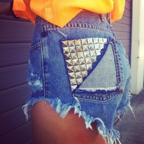 shorts tacks jeans denim summer