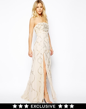 Needle & Thread | Needle & Thread Ornate Prom Maxi Dress at ASOS